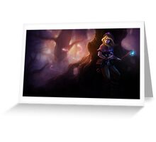 Spellthief Lux - League of Legends Greeting Card