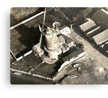 Cley Windmill 1880 Metal Print