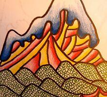 Canadian mountain by Josh cooke