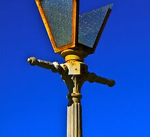 Street Light at Callan Park Circa 1870 by Ronald Rockman
