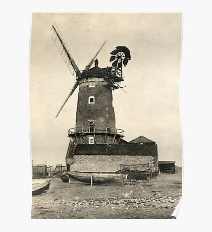 Cley Windmill 1880s Poster
