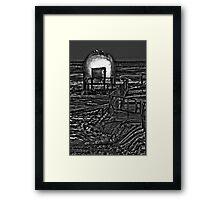 Black Milk Framed Print