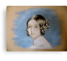 Young Victoria Canvas Print