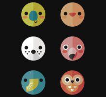 Smiley Faces - Set 3 Kids Tee