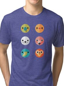 Smiley Faces - Set 3 Tri-blend T-Shirt