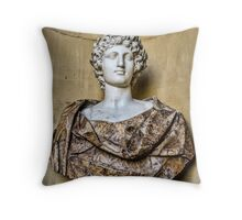 Sculpted Bust Throw Pillow