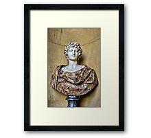 Sculpted Bust Framed Print