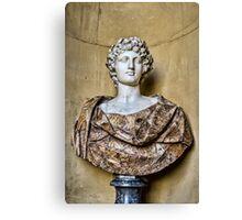 Sculpted Bust Canvas Print