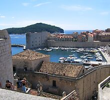 Dubrovnik old town by machka