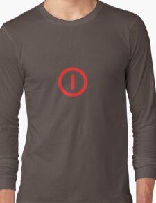 Power Off! Long Sleeve T-Shirt