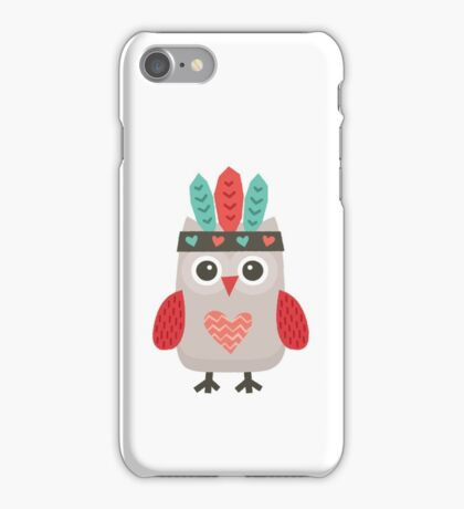 Hipster Owlet Mint iPhone Case/Skin