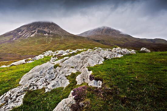 Red Cuillin - Am Binnean Dearg, Isle of Skye. Scotland by David Lewins LRPS
