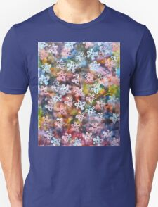 Night blooms in the garden Unisex T-Shirt
