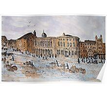 Guildhall and Quayside Poster