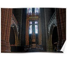 Liverpool Anglican Cathedral - Inside Poster