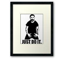 JUST DO IT!!! 3 Framed Print