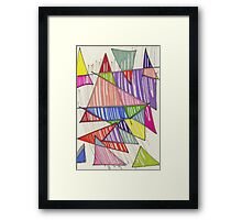 triangle-2011/01 Framed Print