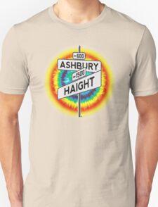 Haight & Ashbury Street Sign T-Shirt