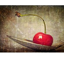 Cherry on Top Photographic Print