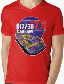 PORSCHE - 917/30 CAN-AM Mens V-Neck T-Shirt
