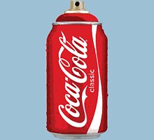 Coca Cola spray can Unisex T-Shirt