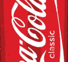 Coca Cola spray can Sticker