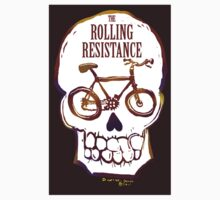 Rolling Resistance (bicycle skull) T-Shirt
