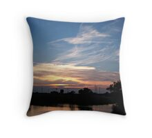 Tranquil Shores Throw Pillow