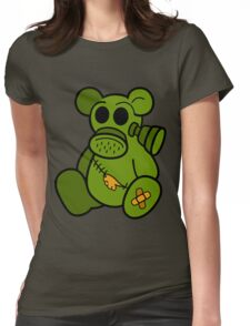 Toxic Teddy Womens Fitted T-Shirt