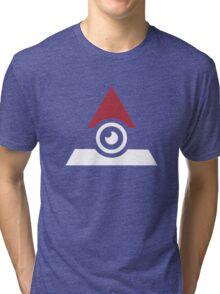 Illuminati Pokemon Tri-blend T-Shirt