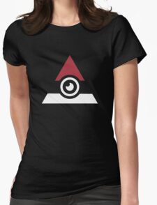 Illuminati Pokemon Womens Fitted T-Shirt