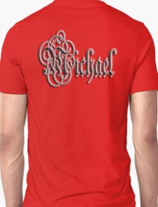 Michael, Name, Tag, 1990's, Mike, Mikey, Mick Unisex T-Shirt