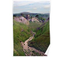 Cavedale, Limestone Way, Castleton. Poster