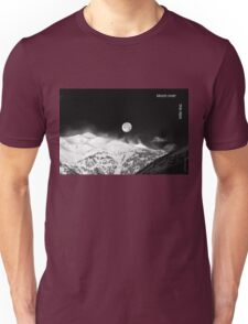 Moon over the Alps Unisex T-Shirt
