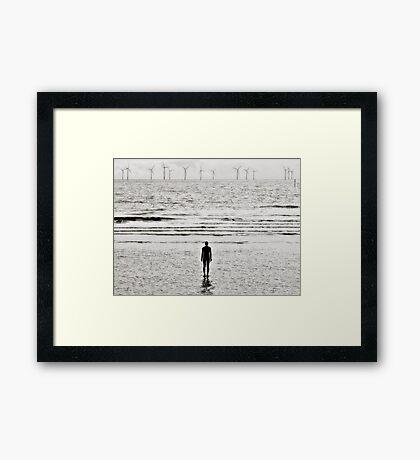 Lonely Man, Crosby Framed Print