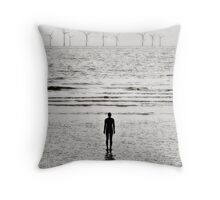 Lonely Man, Crosby Throw Pillow
