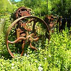 Old Machinery/Superb Piece of Sculpture by hootonles