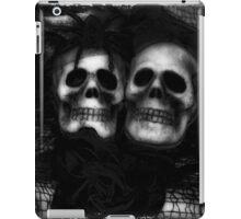 Bride and Groom Skulls Enhanced iPad Case/Skin