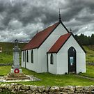 The Church at Syre,Strathnaver by Jamie  Green