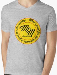M&M Enterprises Mens V-Neck T-Shirt