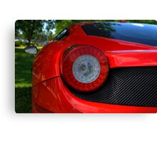 Curves and Lines Ferrari Engineering Canvas Print