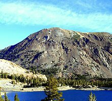 """High Sierra Lake: by Lynn Bawden"