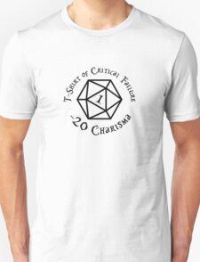 Shirt of Critical Failure Unisex T-Shirt