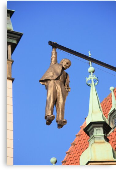 The Hanging Man at Olomouc by Indrani Ghose