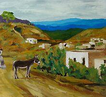 Pueblo Burros by Lowell Smith