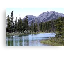 The Wedge & Wedge Pond Below Canvas Print