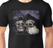 Bride and Groom Skulls Unisex T-Shirt