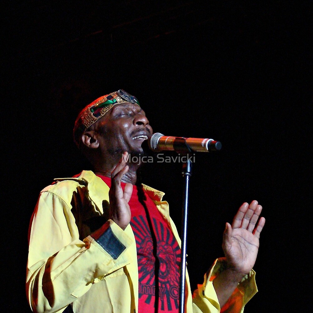 Jimmy Cliff by Mojca Savicki