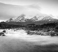 Sligachan in Winter by Christopher Cullen