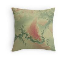Grand Canyon 3 Throw Pillow